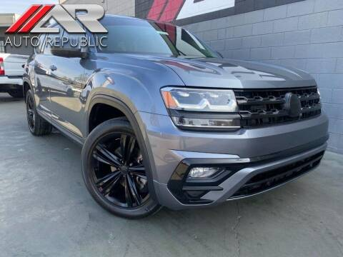 2019 Volkswagen Atlas for sale at Auto Republic Fullerton in Fullerton CA