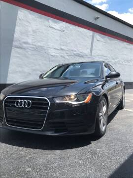2012 Audi A6 for sale at CARSTRADA in Hollywood FL