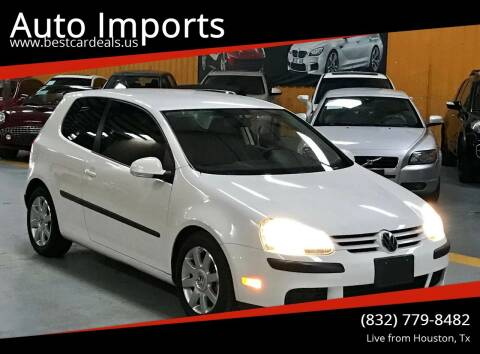 2009 Volkswagen Rabbit for sale at Auto Imports in Houston TX