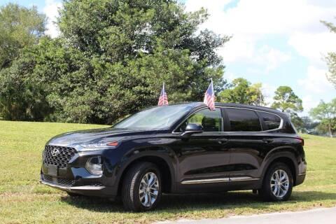 2019 Hyundai Santa Fe for sale at CHASE MOTOR in Miami FL