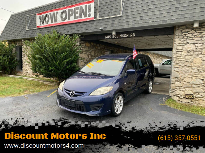 2008 Mazda MAZDA5 for sale at Discount Motors Inc in Old Hickory TN