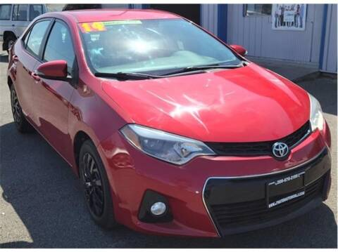 2014 Toyota Corolla for sale at ATWATER AUTO WORLD in Atwater CA