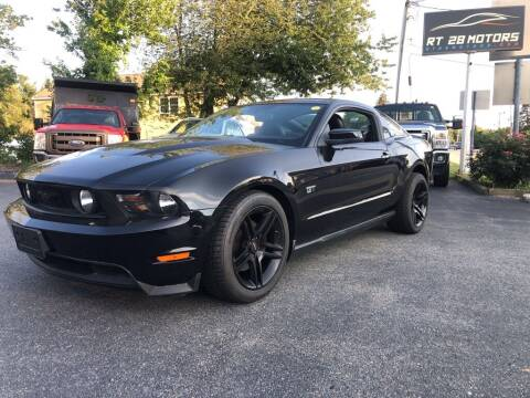 2010 Ford Mustang for sale at RT28 Motors in North Reading MA