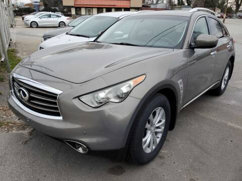 2012 Infiniti FX35 for sale at THE TRAIN AUTO SALES & LEASING in Mauldin SC