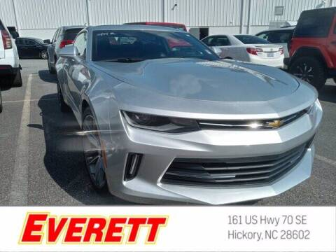 2016 Chevrolet Camaro for sale at Everett Chevrolet Buick GMC in Hickory NC