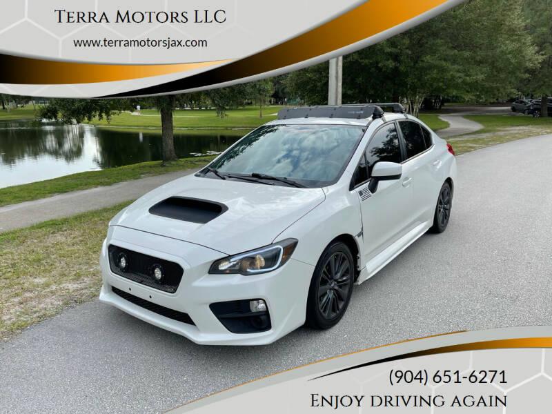 2015 Subaru WRX for sale at Terra Motors LLC in Jacksonville FL