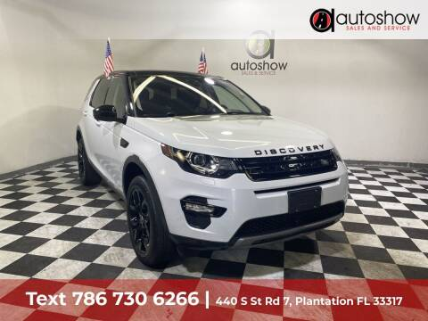 2018 Land Rover Discovery Sport for sale at AUTOSHOW SALES & SERVICE in Plantation FL