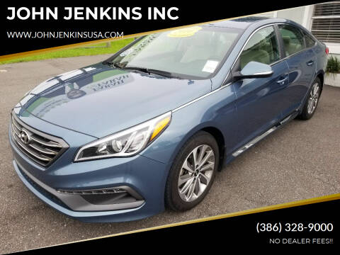 2016 Hyundai Sonata for sale at JOHN JENKINS INC in Palatka FL