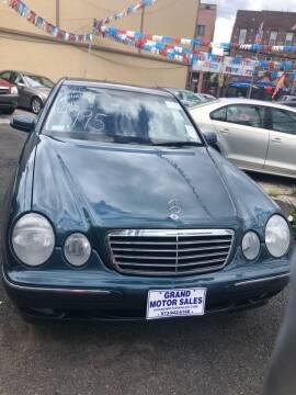 2001 Mercedes-Benz E-Class for sale at GARET MOTORS in Maspeth NY