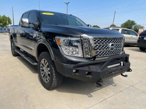 2017 Nissan Titan XD for sale at AP Auto Brokers in Longmont CO