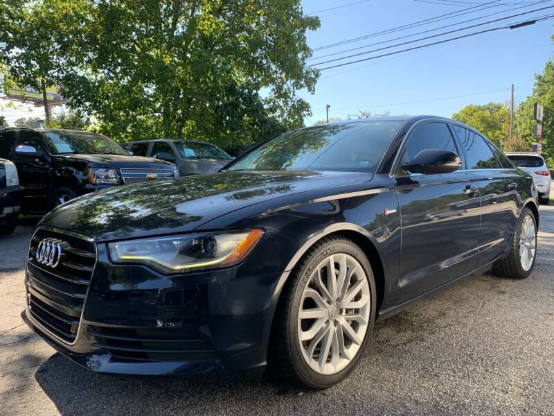 2012 Audi A6 for sale at Car Online in Roswell GA