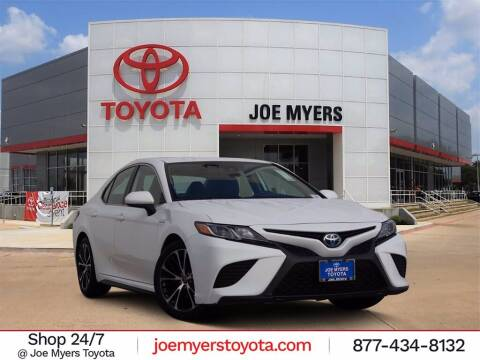 2019 Toyota Camry Hybrid for sale at Joe Myers Toyota PreOwned in Houston TX