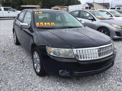 2009 Lincoln MKZ for sale at K & E Auto Sales in Ardmore AL