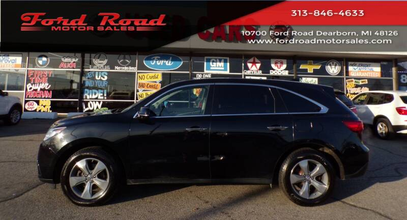 2014 Acura MDX for sale at Ford Road Motor Sales in Dearborn MI