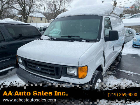 2006 Ford E-Series Cargo for sale at AA Auto Sales Inc. in Gary IN