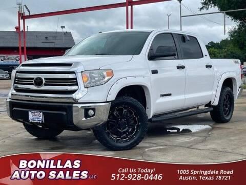 2017 Toyota Tundra for sale at Bonillas Auto Sales in Austin TX