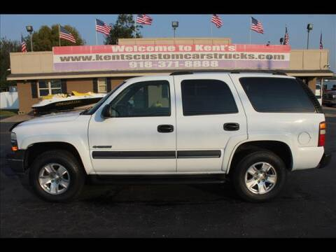 2003 Chevrolet Tahoe for sale at Kents Custom Cars and Trucks in Collinsville OK