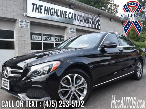 2016 Mercedes-Benz C-Class for sale at The Highline Car Connection in Waterbury CT