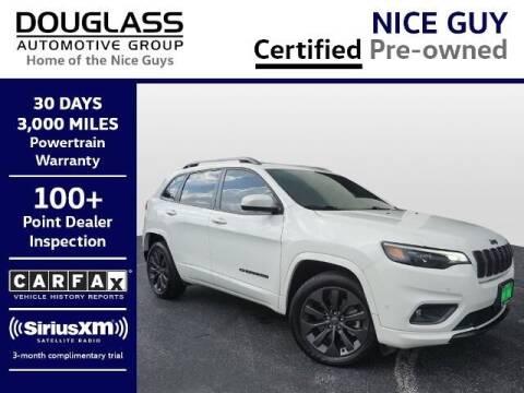 2019 Jeep Cherokee for sale at Douglass Automotive Group - Douglas Volkswagen in Bryan TX