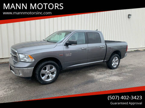 2013 RAM Ram Pickup 1500 for sale at MANN MOTORS in Albert Lea MN