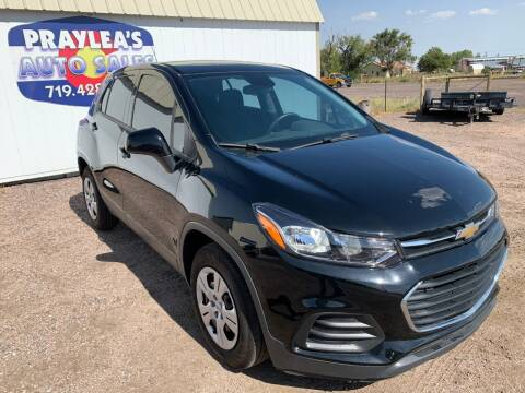 2018 Chevrolet Trax for sale at Praylea's Auto Sales in Peyton CO