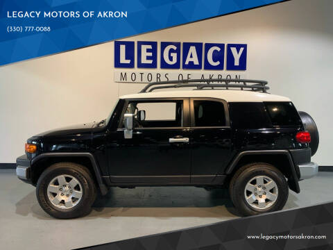 2007 Toyota FJ Cruiser for sale at LEGACY MOTORS OF AKRON in Akron OH