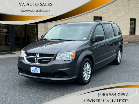 2016 Dodge Grand Caravan for sale at Va Auto Sales in Harrisonburg VA
