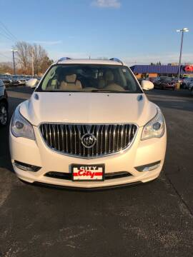 2017 Buick Enclave for sale at CITY SELECT MOTORS in Galesburg IL
