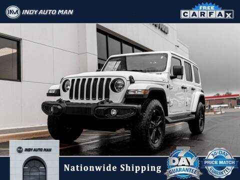 2021 Jeep Wrangler Unlimited for sale at INDY AUTO MAN in Indianapolis IN