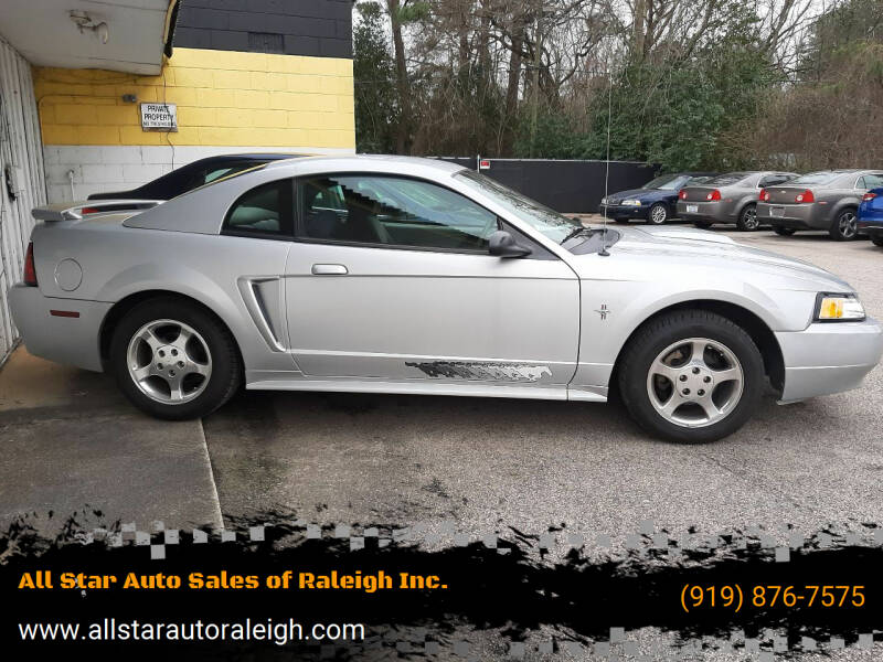 2003 Ford Mustang for sale at All Star Auto Sales of Raleigh Inc. in Raleigh NC