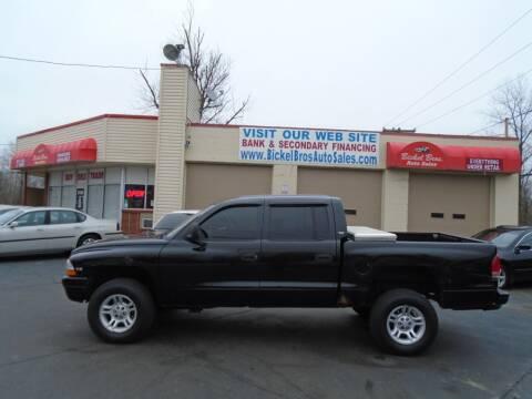2000 Dodge Dakota for sale at Bickel Bros Auto Sales, Inc in Louisville KY