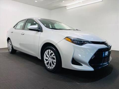 2018 Toyota Corolla for sale at Champagne Motor Car Company in Willimantic CT