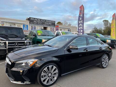 2017 Mercedes-Benz CLA for sale at Black Diamond Auto Sales Inc. in Rancho Cordova CA
