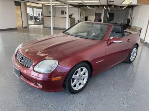2001 Mercedes-Benz SLK for sale at JC Auto Sales in Belleville IL