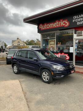 2016 Volkswagen Tiguan for sale at AUTOMETRICS in Brunswick ME