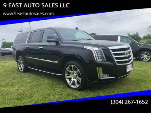 2019 Cadillac Escalade ESV for sale at 9 EAST AUTO SALES LLC in Martinsburg WV