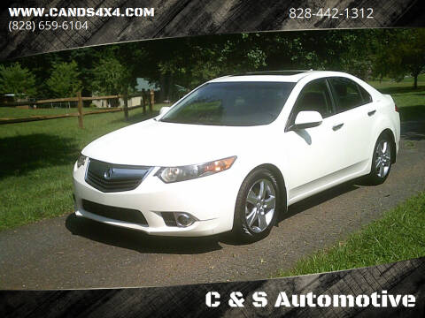 2011 Acura TSX for sale at C & S Automotive in Nebo NC