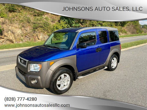 2004 Honda Element for sale at Johnsons Auto Sales, LLC in Marshall NC