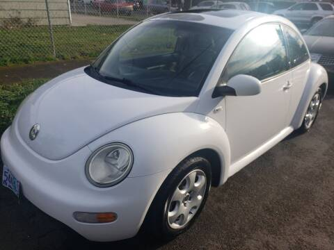 2002 Volkswagen New Beetle for sale at KC Cars Inc. in Portland OR