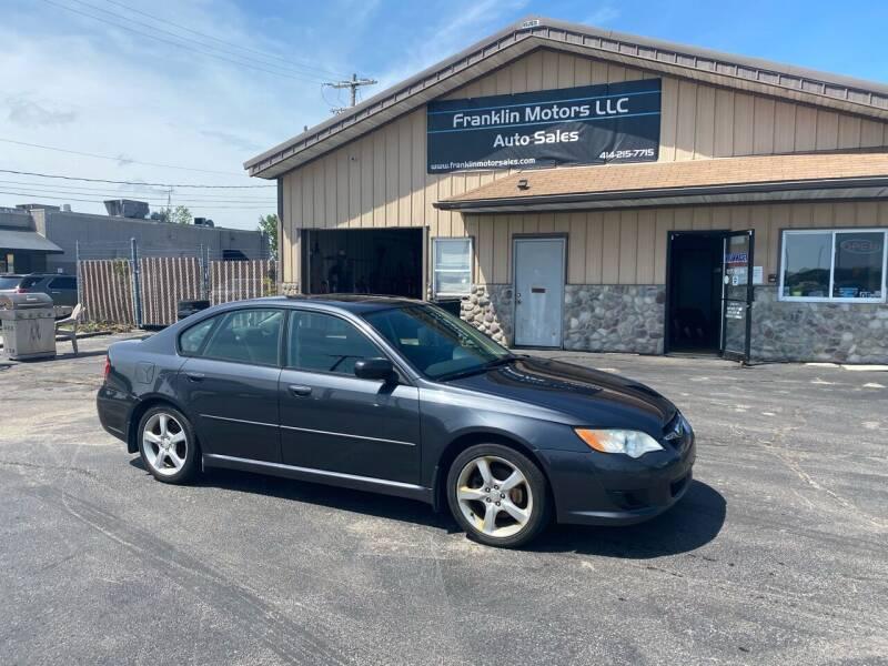 2009 Subaru Legacy for sale at Franklin Motors in Franklin WI