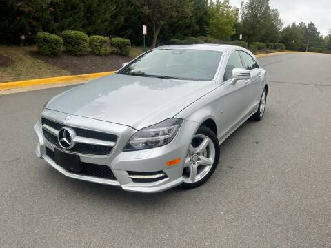 2012 Mercedes-Benz CLS for sale at Aren Auto Group in Sterling VA