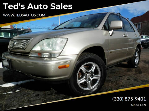 2002 Lexus RX 300 for sale at Ted's Auto Sales in Louisville OH
