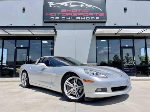 2009 Chevrolet Corvette for sale at Exotic Motorsports of Oklahoma in Edmond OK
