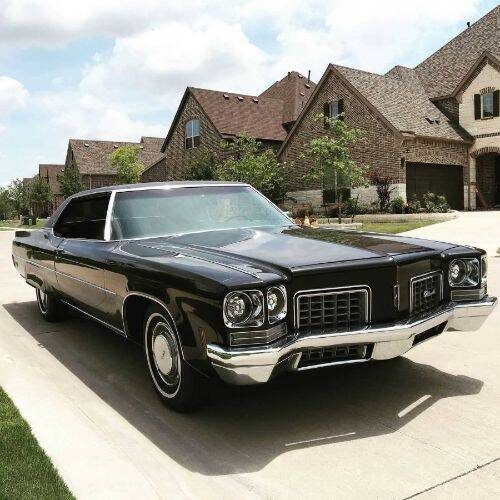 1972 Oldsmobile Ninety-Eight for sale in Cadillac, MI