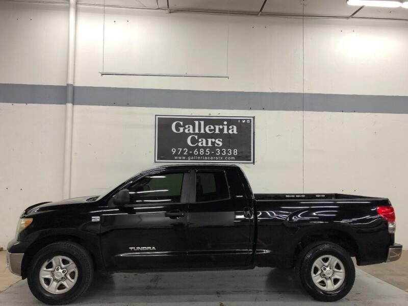 2007 Toyota Tundra for sale at Galleria Cars in Dallas TX