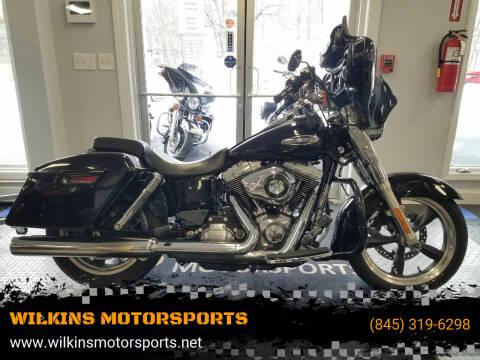 2015 Harley-Davidson SwitchBack Dyna for sale at WILKINS MOTORSPORTS in Brewster NY