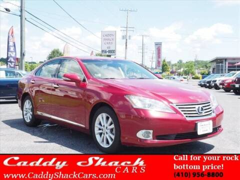 2011 Lexus ES 350 for sale at CADDY SHACK CARS in Edgewater MD