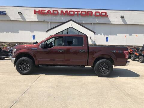 2017 Ford F-150 for sale at Head Motor Company - Head Indian Motorcycle in Columbia MO