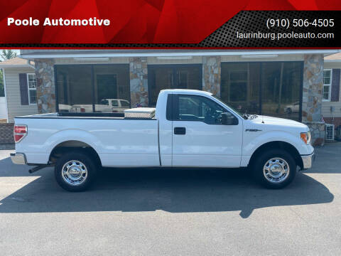 2014 Ford F-150 for sale at Poole Automotive in Laurinburg NC