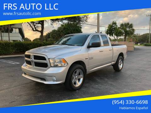2016 RAM Ram Pickup 1500 for sale at FRS AUTO LLC in West Palm Beach FL